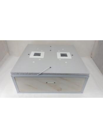 Инкубатор для яиц  Курочка Ряба ИБ 130 механический, цифровой, с вентилятором