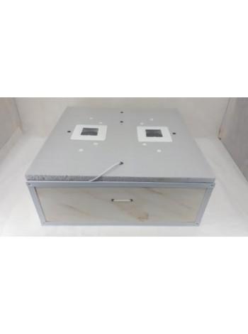 Инкубатор для яиц Курочка Ряба ИБ 80 (270, 54), автоматический, цифровой, ламповый, с вентилятором