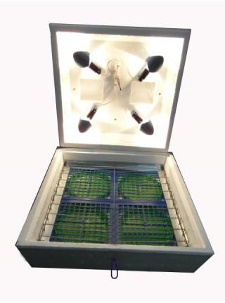 Инкубатор для яиц Наседка ИБ 120/72 с механическим переворотом, цифровой терморегулятор