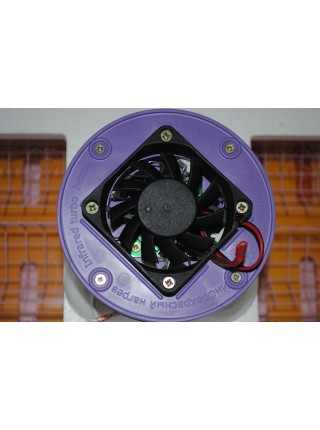 Инкубатор для яиц Рябушка2 70, ручной переворот, керамический нагреватель, вентилятор