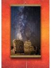 Обогреватель электрический плёночный картина Млечный Путь