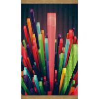 Настенный обогреватель картина Цветные Кристаллы