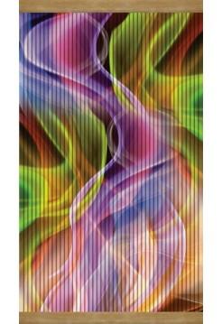 Плёночный обогреватель на стену Картина Цветной дым