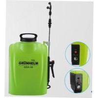Аккумуляторный (электрический) опрыскиватель Grunhelm GHS-16 (63740)