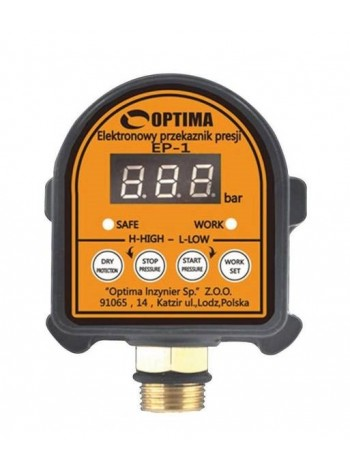 Контроллер реле давления Optima EP-1