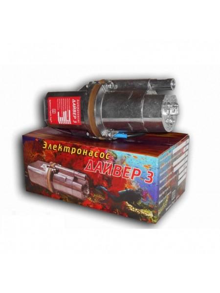 Насос вибрационный Дайвер 3 клапана