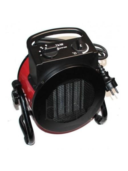 Тепловентилятор Crown 2 кВт керамический, электрическая тепловая пушка