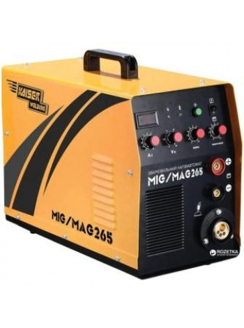 Сварочный полуавтомат инверторный Kaiser Welding MIG-265 (69565 / 69566)