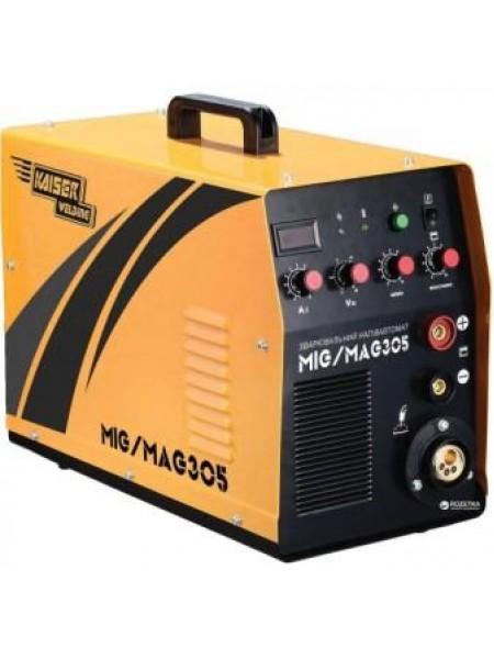 Сварочный полуавтомат инверторный Kaiser Welding MIG-305  (69569 / 69570)