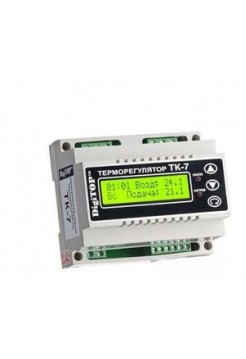 Терморегулятор ТK-7 (цифровой) 4.5А DIN рейка