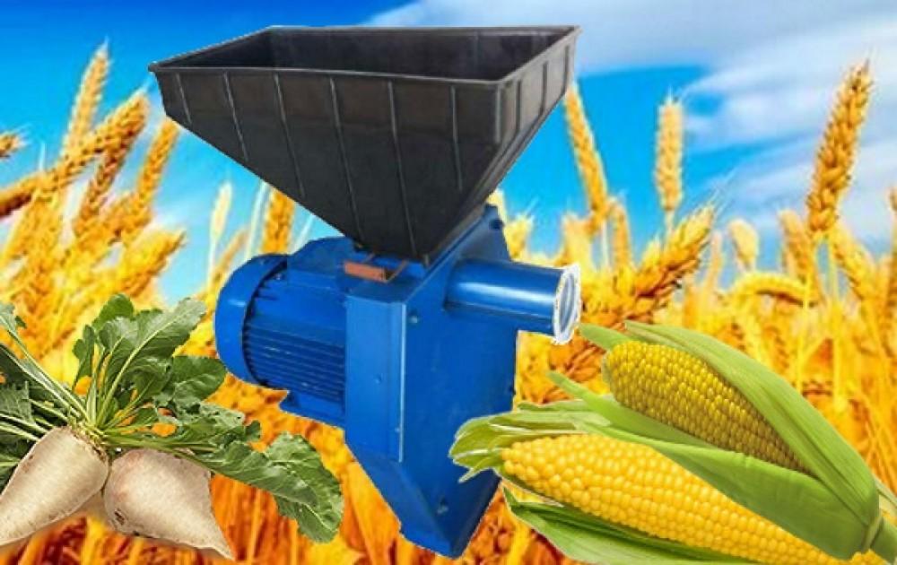 Надежные мощные зернодробилки – корморезки Эликор