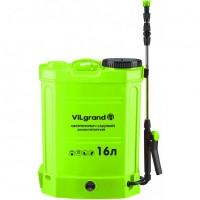 Аккумуляторный опрыскиватель Vilgrand SGA-16RP