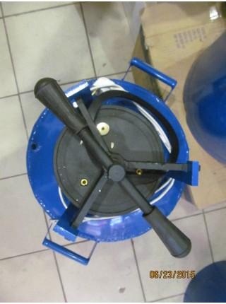 Автоклав для консервирования электрический синий маленький  0,5л-10 банок или 1,0л-6 банок