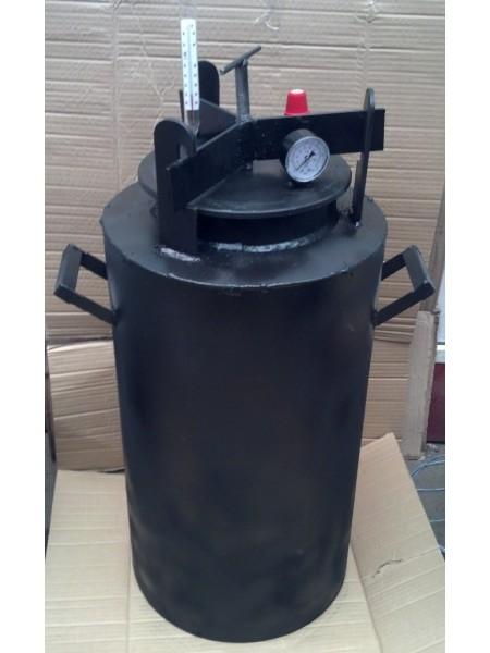 Автоклав для консервирования Черный большой винт, газовый