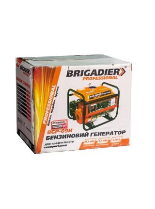 Бензогенератор Бригадир Professional BGP-09Н, 0.9 кВт, р.с.