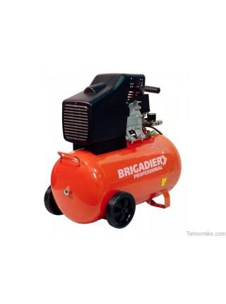 Компрессор масляный Бригадир Professional, AC-50P (+ набор)
