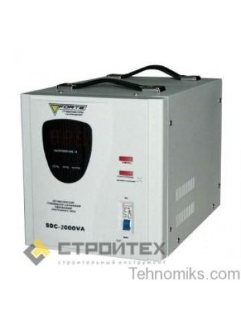 Стабилизатор напряжения FORTE SDC-3000VA