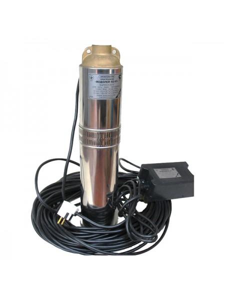 Скважинный насос Водолей БЦПЭУ 0.5-50 (Внутренний кабель)